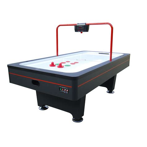 air hockey table dimensions playcraft 7 5 weston ii air hockey table with overhead