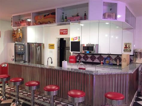 1950s Fireplaces by Man Cave And Garage Eclectic Kitchen Dallas By