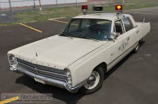 1967 Plymouth Fury Police Car