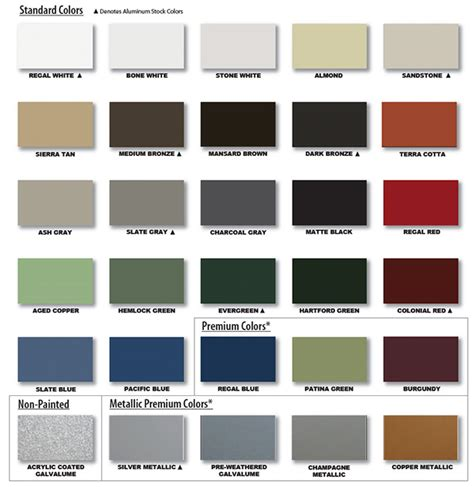 office furniture kitchener metal roof color chart 28 images standing seam metal