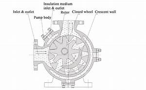 Lbn Series Internal Gear Pump High Viscosity Liquid