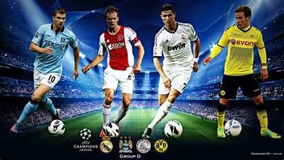 Football League Champions Uefa Soccer Players Sports