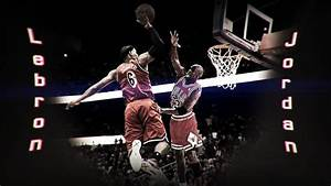 Lebron James Dunking on Michael Jordan by HardWorkRules on ...