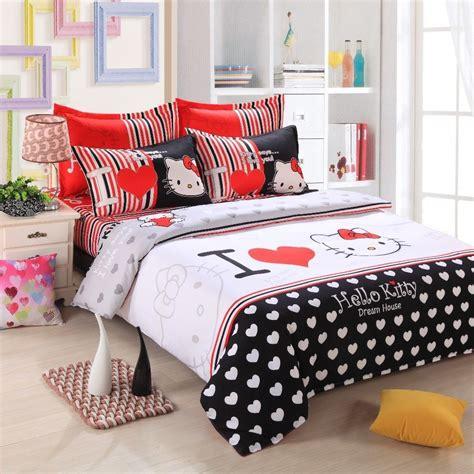 kitty full size bedding set home furniture design