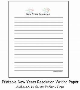new years writing paper free templates