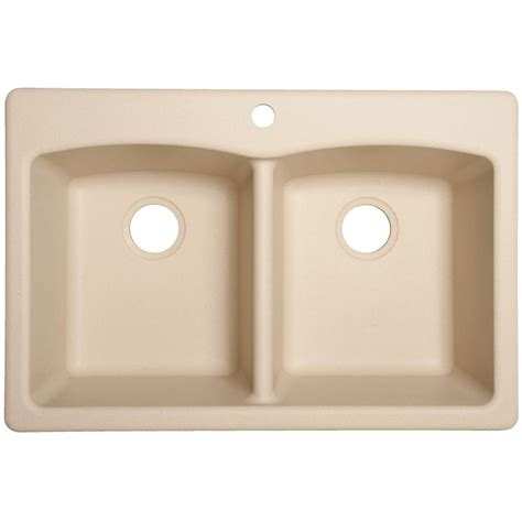 franke kitchen sinks granite composite franke dual mount composite granite 33 in 1 6683