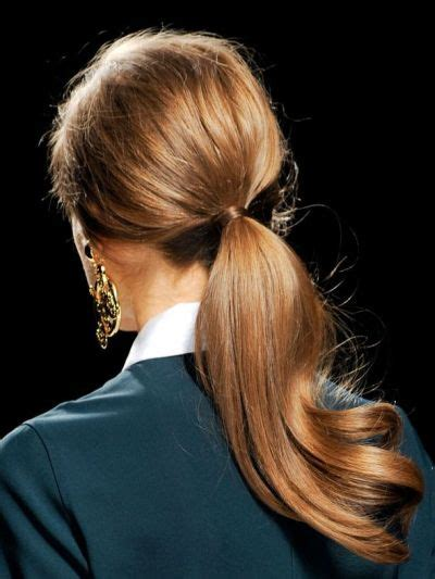 bouncy  ponytail casual fall everyday careforhair