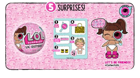 lol surprise  wraps series  eye spy guide lotta lol
