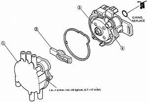 Do You Have An Exploded View Diagram Of A Distributor For A 1993 Mazda Mx