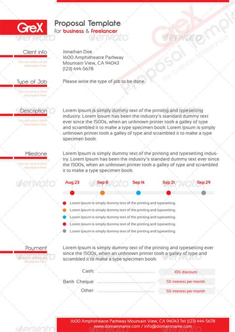 grex resume invoice template package by oniva