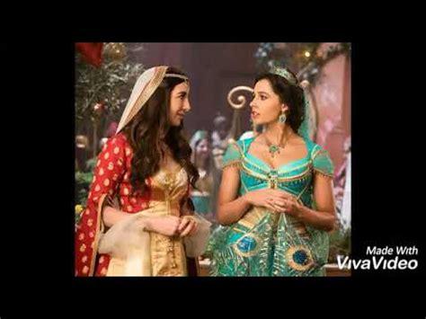 Aladdin 2019 All jasmine songs Speechless+A whole new