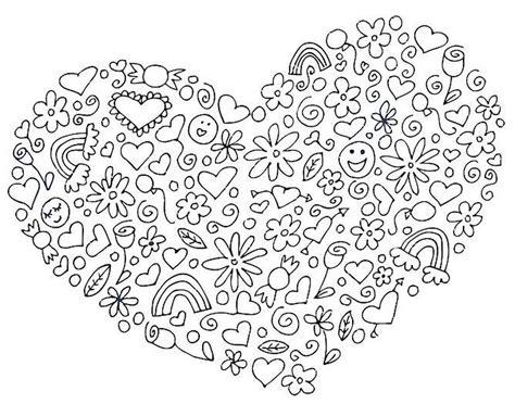 Love Mandala Coloring Pages Eskayalitim