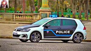 Nouvelle Golf Gte : nouvelle voiture de police en urgence sir ne am ricaine vw golf gte paris youtube ~ Medecine-chirurgie-esthetiques.com Avis de Voitures