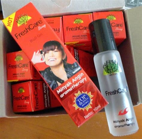 minyak angin aromaterapi fresh care yumida