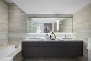 salle de bain grise epuree With salle de bain epuree