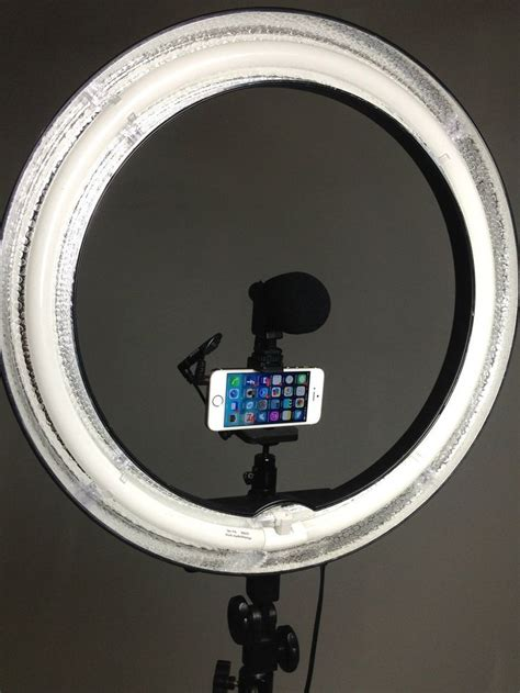 cell phone ring light 17 best ideas about diy ring light on vanity