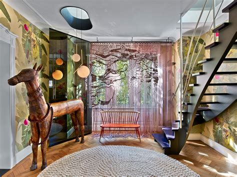 Eclectic : Colorful Eclectic Interior Design Is Collage Of Travels