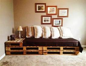 sofa tisch sofa aus paletten integrieren diy möbel sind praktisch und originell