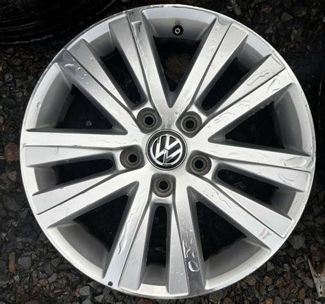 1 x genuine volkswagen transporter t6 17 alloy wheel nationwide delivery for sale in tralee