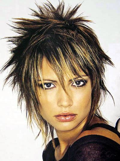 ponytail hairstyles  spiky bob hairstyle
