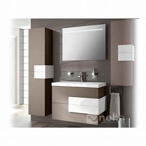 meuble en bois salle de bain mzaolcom With meuble chene salle de bain