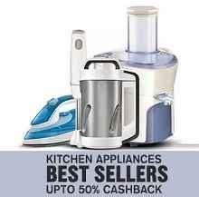 Super Saver Offers In Kitchen Appliances  Upto 50% Cas
