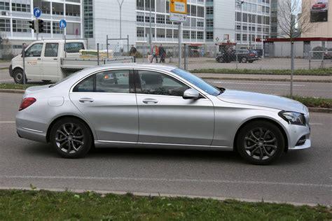 2018 Mercedesbenz Cclass Facelift Spy Shots Gtspirit