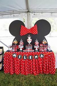 Todo para una fiesta con tema de ¿Minnie? ¿Mimí? ¡Como