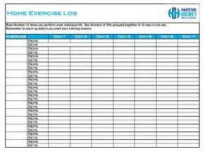 Weight Training Workout Log Printable