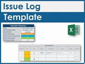 Download An Issue Log Excel Template