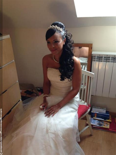 maquilleuse coiffeuse mariage coiffures mariage
