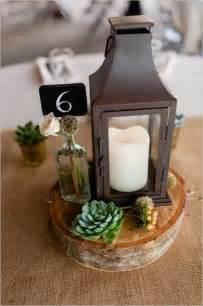 Lantern Wedding Centerpiece Idea Table