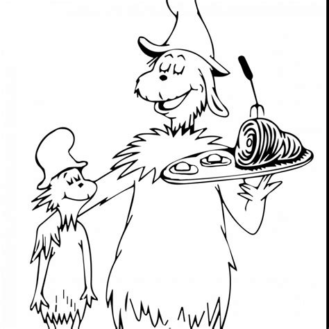 Cat In The Hat Coloring Pages Free Printable At