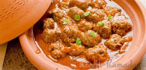 tajine de boulettes de kefta à la marocaine recette ramadan