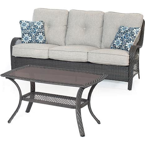 hanover orleans 2 patio set silver 8055724 hsn