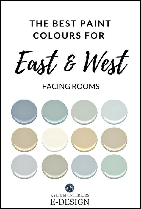 the best paint colours for east facing rooms benjamin
