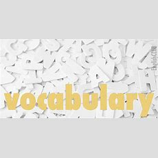 Vocabulary  Learn English Englishclub