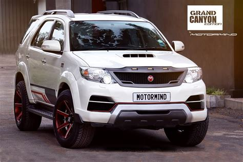 toyota fortuner grand canyon edition    upgrade