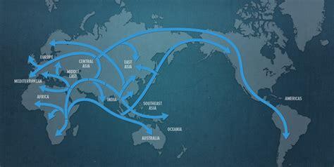 map  human migration