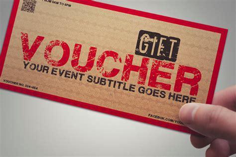 coupon voucher design template   word jpg psd