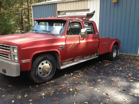 Find Used Chevy 3500 Dually Cummins In Sheridan, Illinois