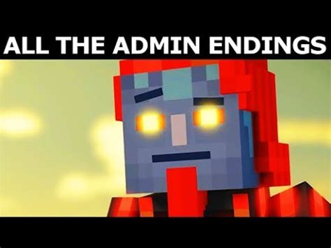 All The Admin Endings  Minecraft Story Mode Season 2