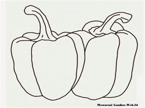 gambar mewarnai buah cabe