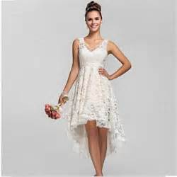 wedding dresses 2015 summer 2015 summer high low lace wedding dresses plus size v neck cheap china made vintage