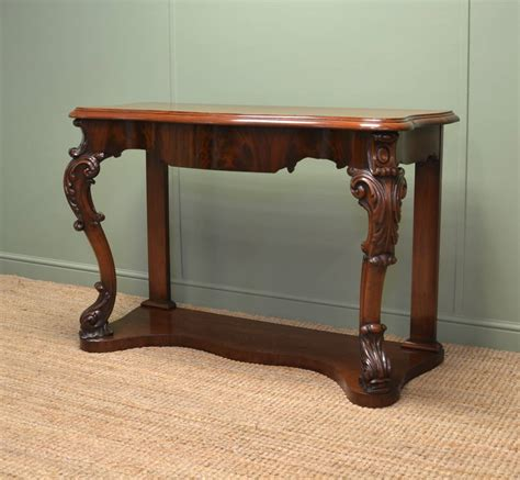 mahogany sofa tables high quality antique mahogany console table antiques world