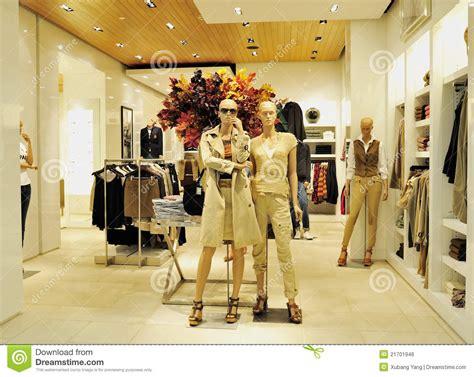 Image Clothing Store Fashion Clothing Store Stock Photo Image Of
