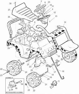 Power Wheels Caterpillar Jr Parts