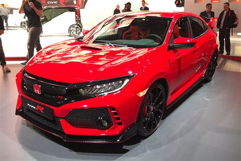 Allnew Honda Civic Type R Revealed At Geneva 2017