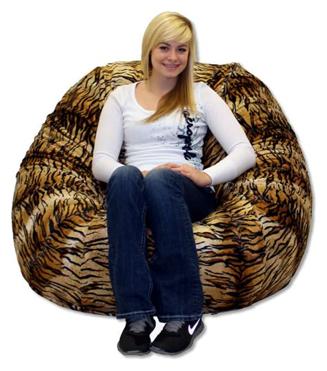 large royal sack foam foof chair thebeanbagchairoutlet