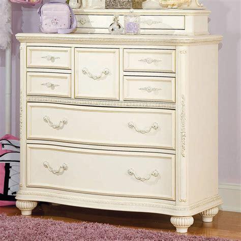 Bedroom Bureau by Mcclintock Antique White Bureau Traditional